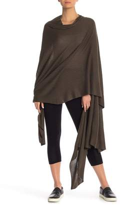 LEIMERE Wool Blend Wrap