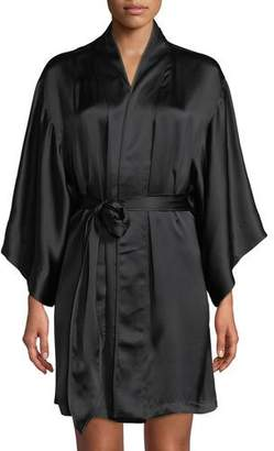 Josie Natori Key Essentials Silk Robe
