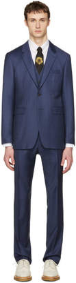 Burberry Blue Millbank Travel Three-Piece Suit