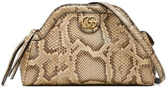 Gucci RE(BELLE) python small shoulder bag
