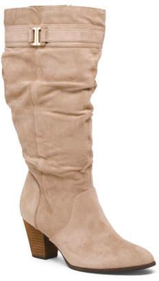 Comfort Wide Calf High Shaft Boots