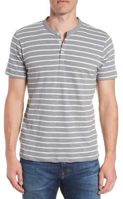 Bonobos Slim Fit Stripe Henley T-Shirt
