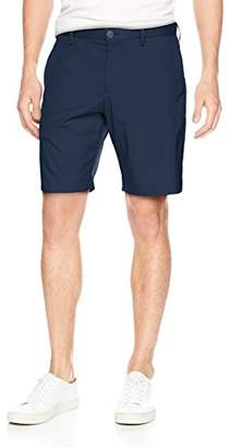 Perry Ellis Men's Slim Fit Stretch Solid Iridescent Short