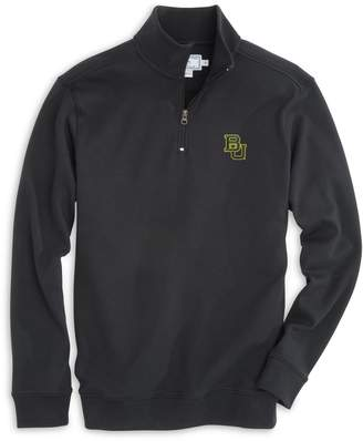 Southern Tide Gameday Skipjack 1/4 Zip Pullover - Baylor University