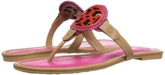 Tory Burch - Miller Fringe Sandal Women's Sandals $225 thestylecure.com
