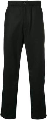 Universal Works elasticated waist straight trousers