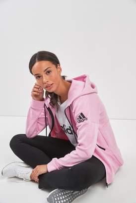 Next Womens adidas ID Stadium Pink Zip Through Hoody