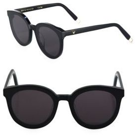 Gentle Monster Black Peter 64MM Round Sunglasses $249 thestylecure.com