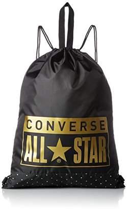 Converse (コンバース) - [コンバース] ナップサック 2WAY 持ち手付き C1602092 1919D ブラック/ドットB