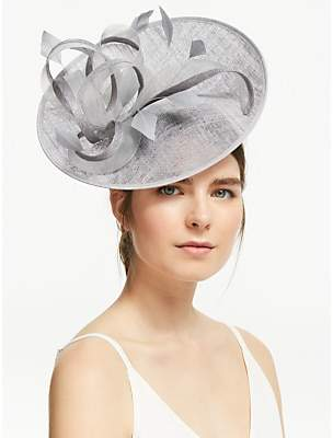 4e8691bb John Lewis & Partners Amelie Loop and Quills Occasion Disc Hat