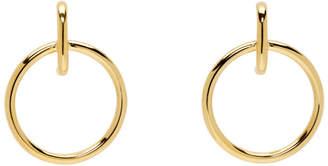 Sophie Buhai Gold Large Isabel Hoop Earrings