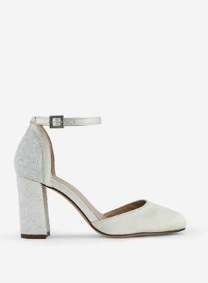 0151313d0ba White Court Block Heel Shoes - ShopStyle UK