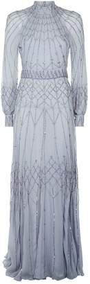 Temperley London Crystal Embellished Glide Gown