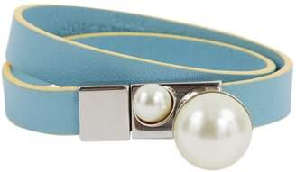 Christian Dior Blue Leather Bracelets