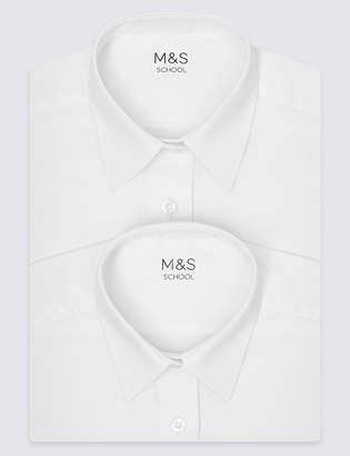 Marks and Spencer 2 Pack Girls' Longer Length Blouses