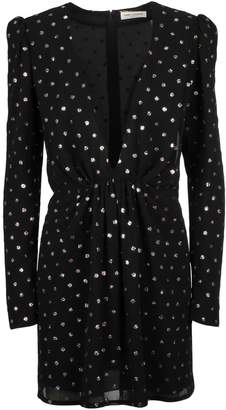 Saint Laurent Jewel Embellished Dress