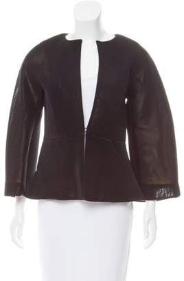 Zero Maria Cornejo Textured Long Sleeve Jacket w/ Tags