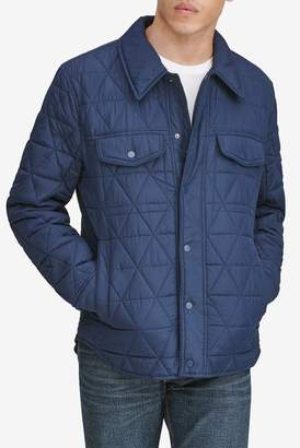 Andrew Marc Medford Water Resistant Shirt Jacket
