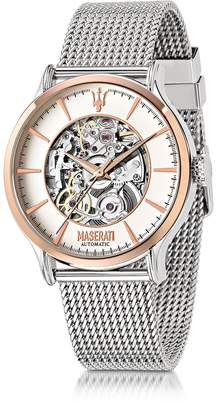 Epoca Maserati Two Tone Stainless Steel Men's Watch