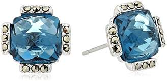 Judith Jack 10k Gold Plated Sterling Silver and Stud Earrings
