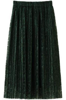 Heliopole (エリオポール) - エリオポール ラッセルレース プリーツスカート