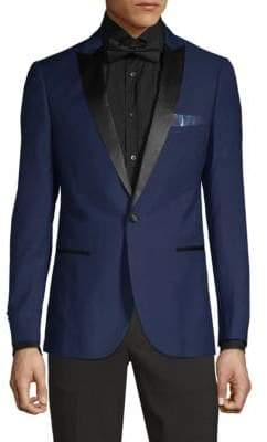 Single-Button Dinner Jacket