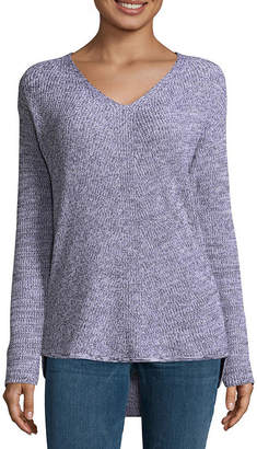 A.N.A Long Sleeve V Neck Pullover Sweater