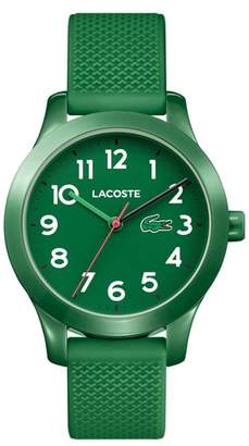 Lacoste Kids 12.12 Silicone Strap Watch, 32mm