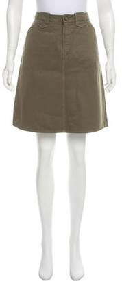 Dolce & Gabbana A-Line Knee-Length Skirt