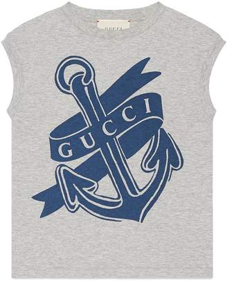 Gucci Logo Anchor Tank