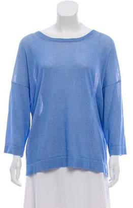 Tibi Knit Long Sleeve Sweater