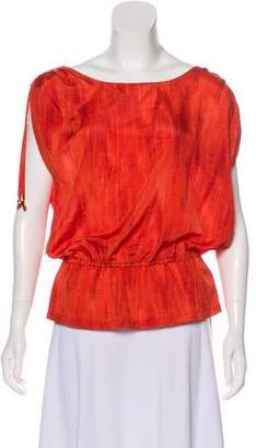 MICHAEL Michael Kors Sleeveless Printed Top
