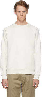 Norse Projects Off-White Ketel Summer Classic Crew Sweatshirt