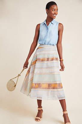 Geisha Designs Chantrelline Tulle Midi Skirt