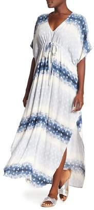 Love Stitch Paisley Gauze Maxi Dress