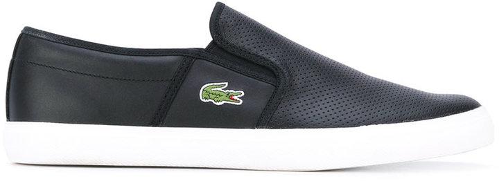 LacosteLacoste slip on sneakers