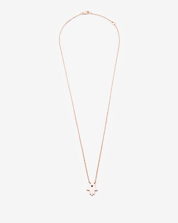 Jennifer Zeuner Jewelry Exclusive Mini Hand Necklace