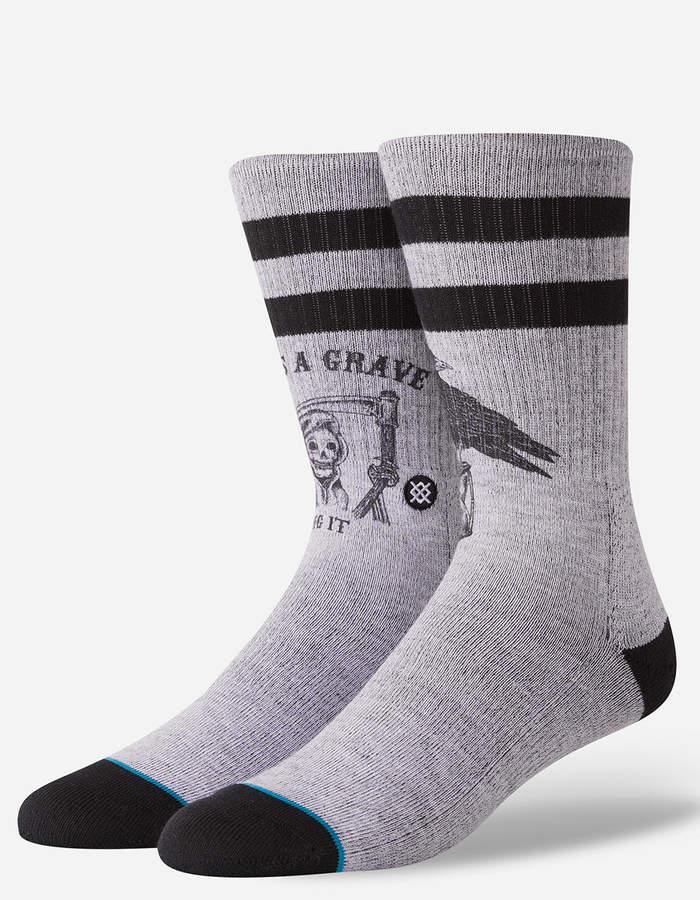 Stance Lifes A Grave Mens Crew Socks