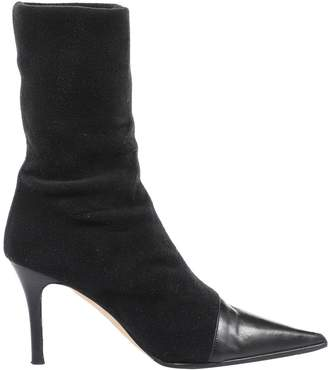 Kate Spade Black Leather Boots