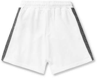 McQ Logo-Trimmed Loopback Cotton-Jersey Shorts