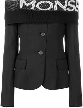 Monse off-the-shoulder blazer blouse