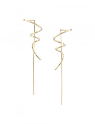 Sophie Bille Brahe 'Petite Pirouette' left earrings $550 thestylecure.com