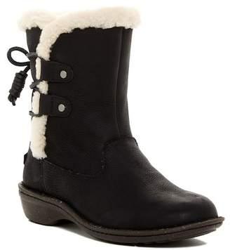 UGG Australia Akadia Genuine Sheepskin Lace-Up Boot $174.95 thestylecure.com