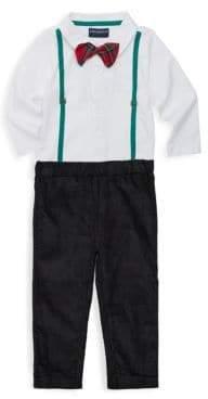Andy & Evan Baby Boy's Two-Piece Suit Graphic Bodysuit & Pants Set