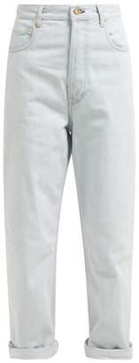 Golden Goose Kim High Rise Boyfriend Jeans - Womens - Light Denim