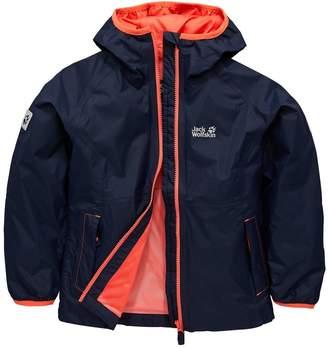 Jack Wolfskin Girls Rainy Days Jacket