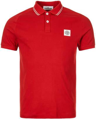 Stone Island Polo Shirt - Red