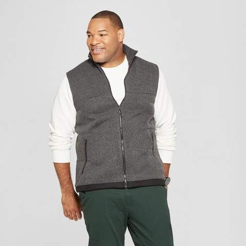 Goodfellow & Co Men's Big & Tall Sweater Fleece Vest
