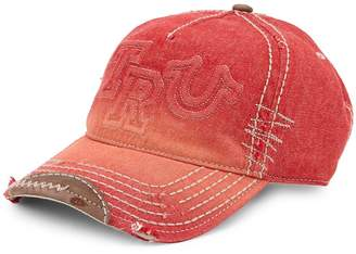 True Religion Men's Denim Cotton Baseball Cap