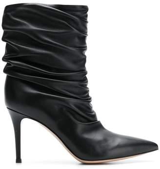 Gianvito Rossi Cecile gathered boots